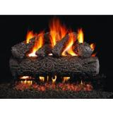 Peterson Gas Logs 24 Inch Post Oak Vented Natural Gas Log Set With G4 Burner - Match Light